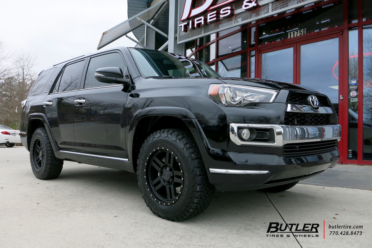 toyota 4runner with 20in black rhino mojave wheels. Black Bedroom Furniture Sets. Home Design Ideas