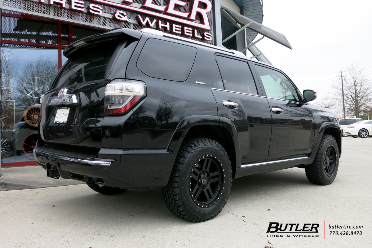 Toyota 4Runner with 20in Black Rhino Mojave Wheels ...