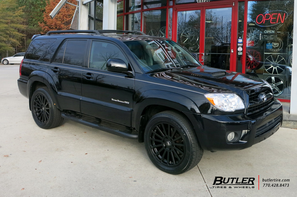 Toyota 4runner With 20in Black Rhino Spear Wheels