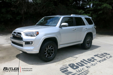 Toyota 4Runner with 20in Black Rhino Thrust Wheels