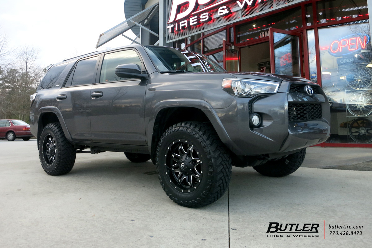 Toyota 4Runner with 20in Fuel Lethal Wheels exclusively ...