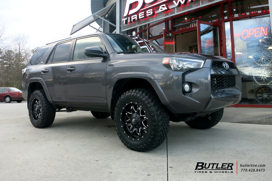 Toyota 4runner With 20in Fuel Lethal Wheels Exclusively