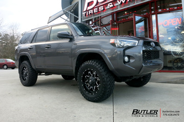 Toyota 4Runner with 20in Fuel Lethal Wheels