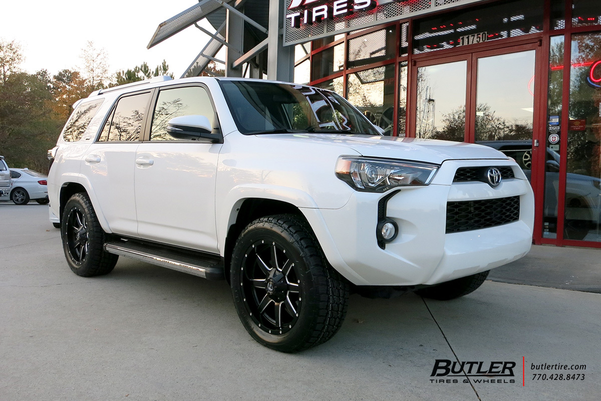 Toyota 4runner With 20in Fuel Maverick Wheels Exclusively From Butler Tires And Wheels In Atlanta Ga Image Number 10008