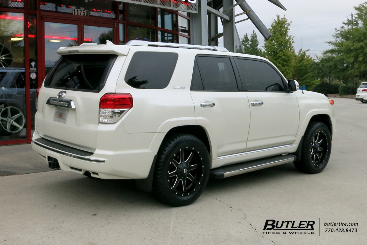 Toyota 4Runner with 20in Fuel Maverick Wheels