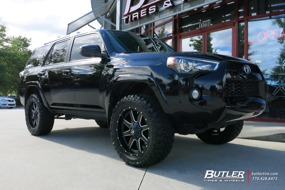 Toyota 4Runner with 20in Fuel Maverick Wheels exclusively ...