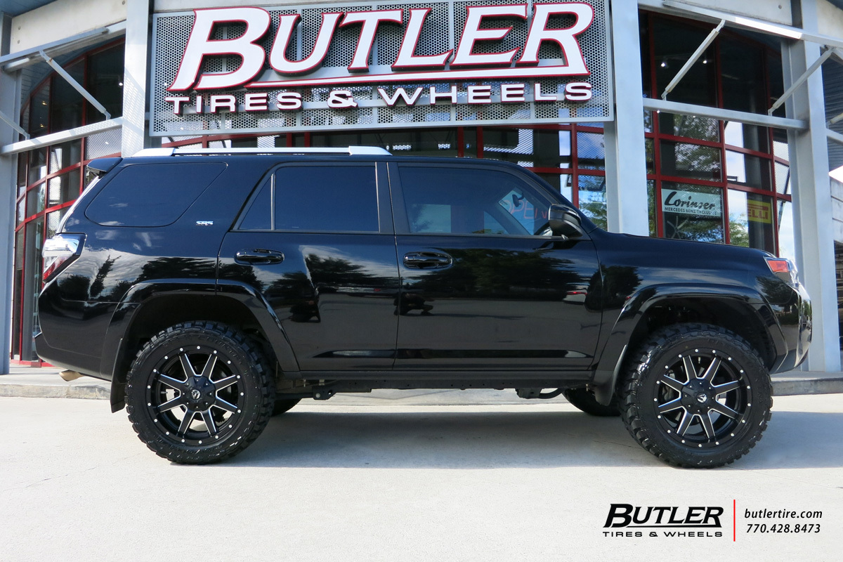 Toyota 4runner With 20in Fuel Maverick Wheels Exclusively