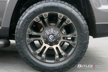 Toyota 4Runner with 20in Fuel Vapor Wheels