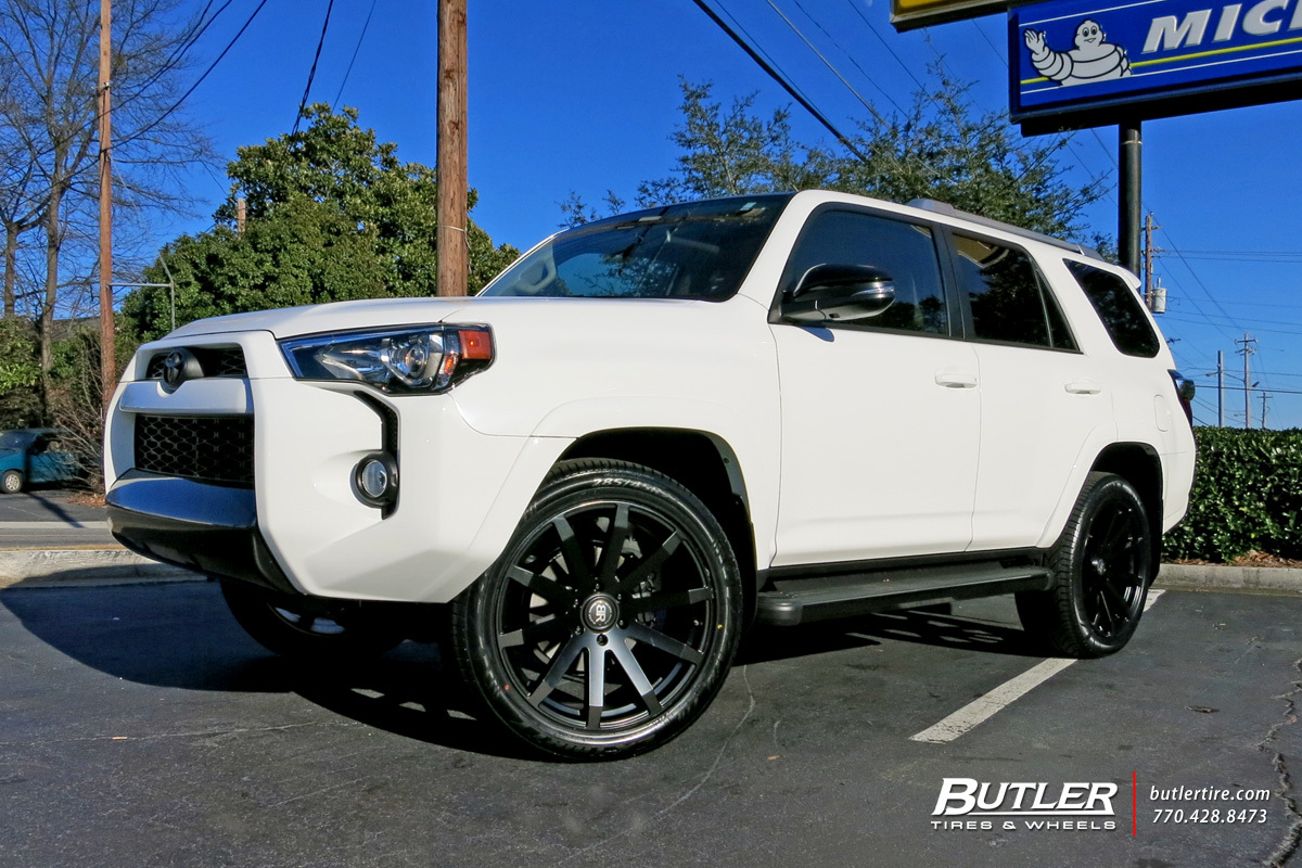 Toyota 4Runner with 22in Black Rhino Traverse Wheels