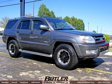 Toyota 4 Runner with 17in Black Rhino Rockwell Wheels