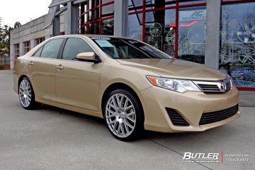 Toyota Camry with 20in TSW Mugello Wheels