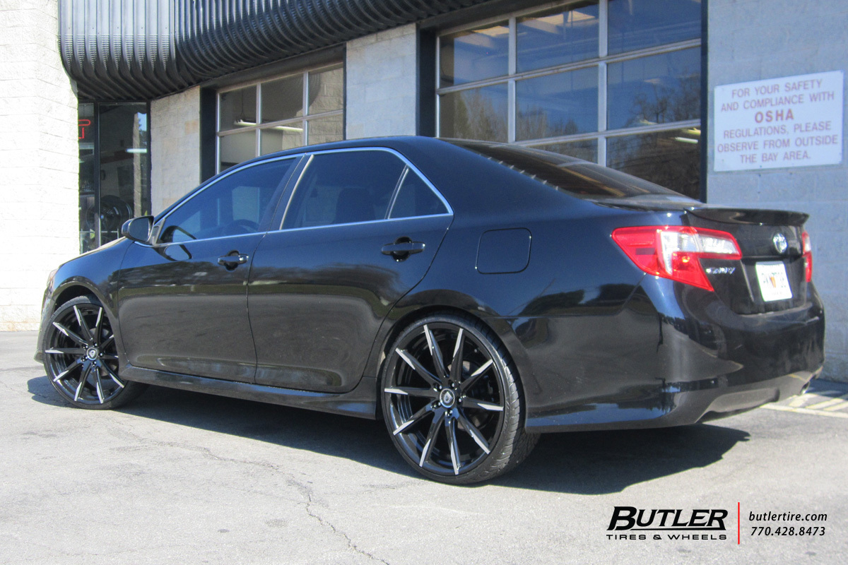 Toyota Camry With 22in Lexani Css15 Wheels Exclusively