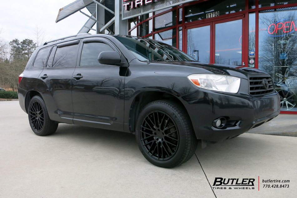 Toyota Highlander with 20in TSW Max Wheels exclusively ...
