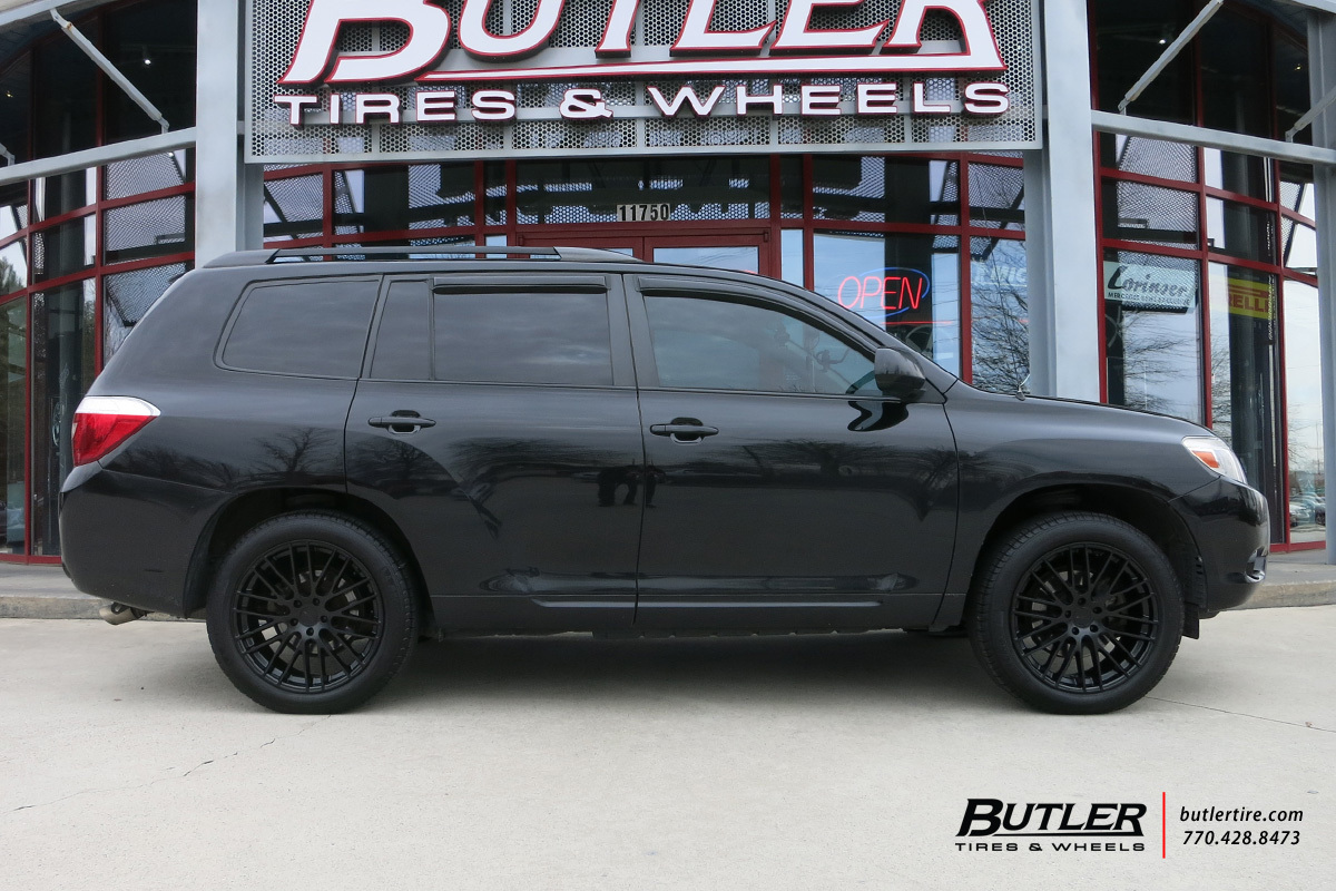 Toyota Highlander With 20in Tsw Max Wheels Exclusively