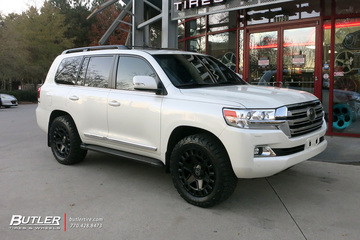 Toyota Land Cruiser with 20in Black Rhino York Wheels