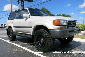 Toyota Land Cruiser with 18in Fuel Coupler Wheels