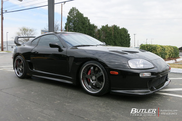 Toyota Supra with 19in iForged Aero Wheels