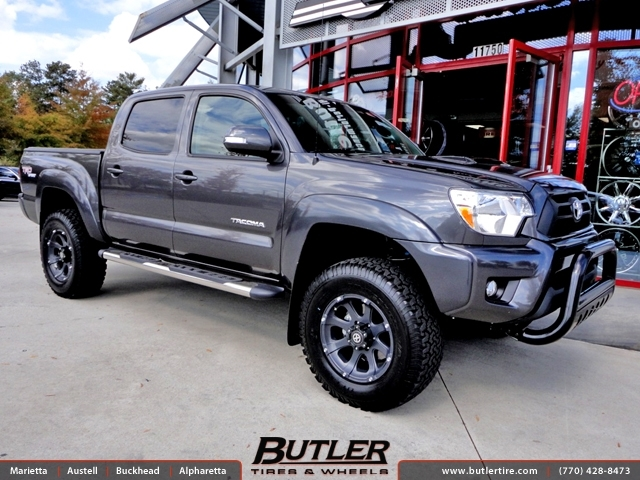 Toyota Tacoma with 17in ATX Ledge Wheels