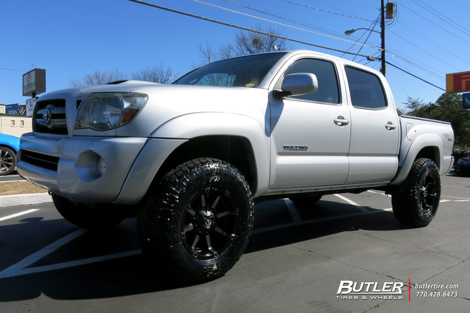 Toyota Tacoma With 17in Fuel Coupler Wheels Exclusively From Butler Tires And Wheels In Atlanta