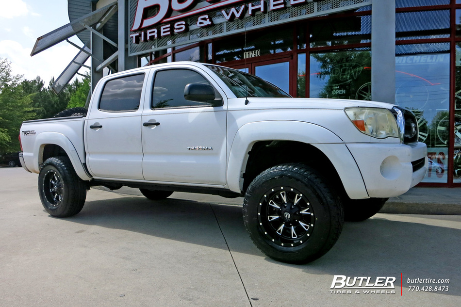 Toyota Tacoma with 17in Fuel Throttle Wheels exclusively ...