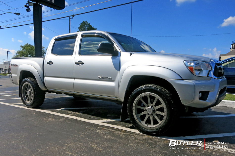 Toyota Tacoma with 18in Black Rhino Mint Wheels exclusively from Butler Tires and Wheels in ...