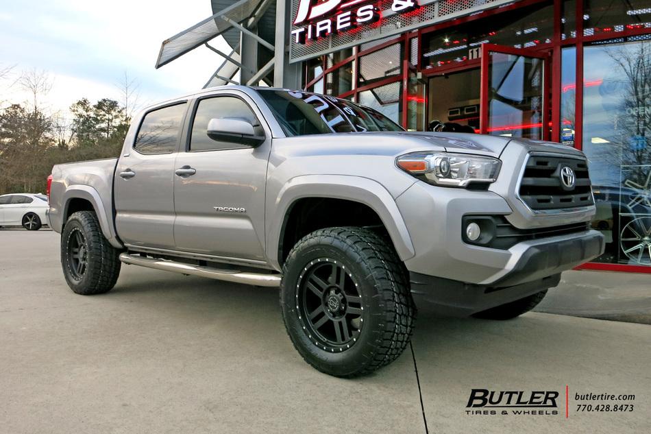 El Cajon Subaru >> Toyota Tacoma with 18in Black Rhino Mojave Wheels ...