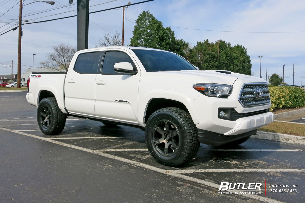 inc toyota specialists projectimagedetail hostile with xlarge wheels wheel havoc tacoma