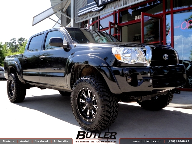 Toyota Tacoma With 18in Fuel Boost Wheels Exclusively From