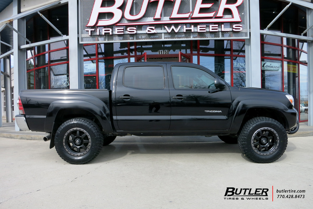 Toyota Tacoma with 18in Fuel Trophy Wheels exclusively ...