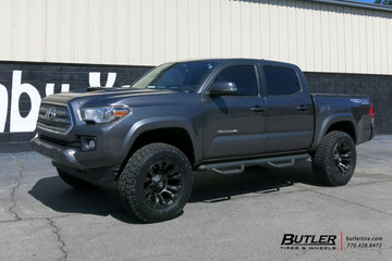 Toyota Tacoma with 18in Fuel Vapor Wheels
