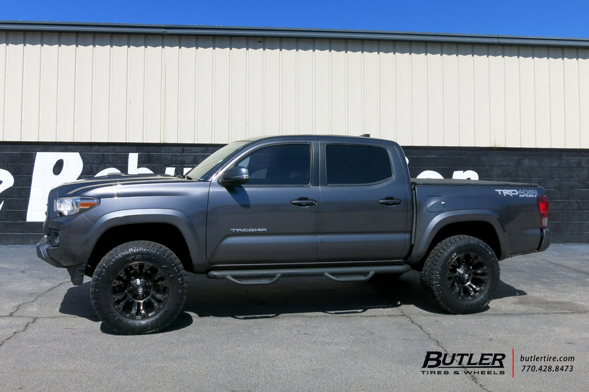 Rt 18 Jeep >> Toyota Tacoma with 18in Fuel Vapor Wheels exclusively from ...