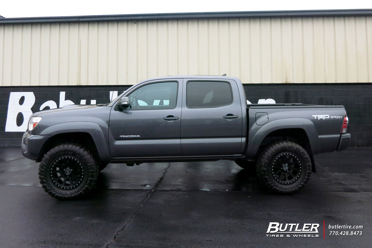 Toyota Tacoma with 20in Black Rhino Mint Wheels