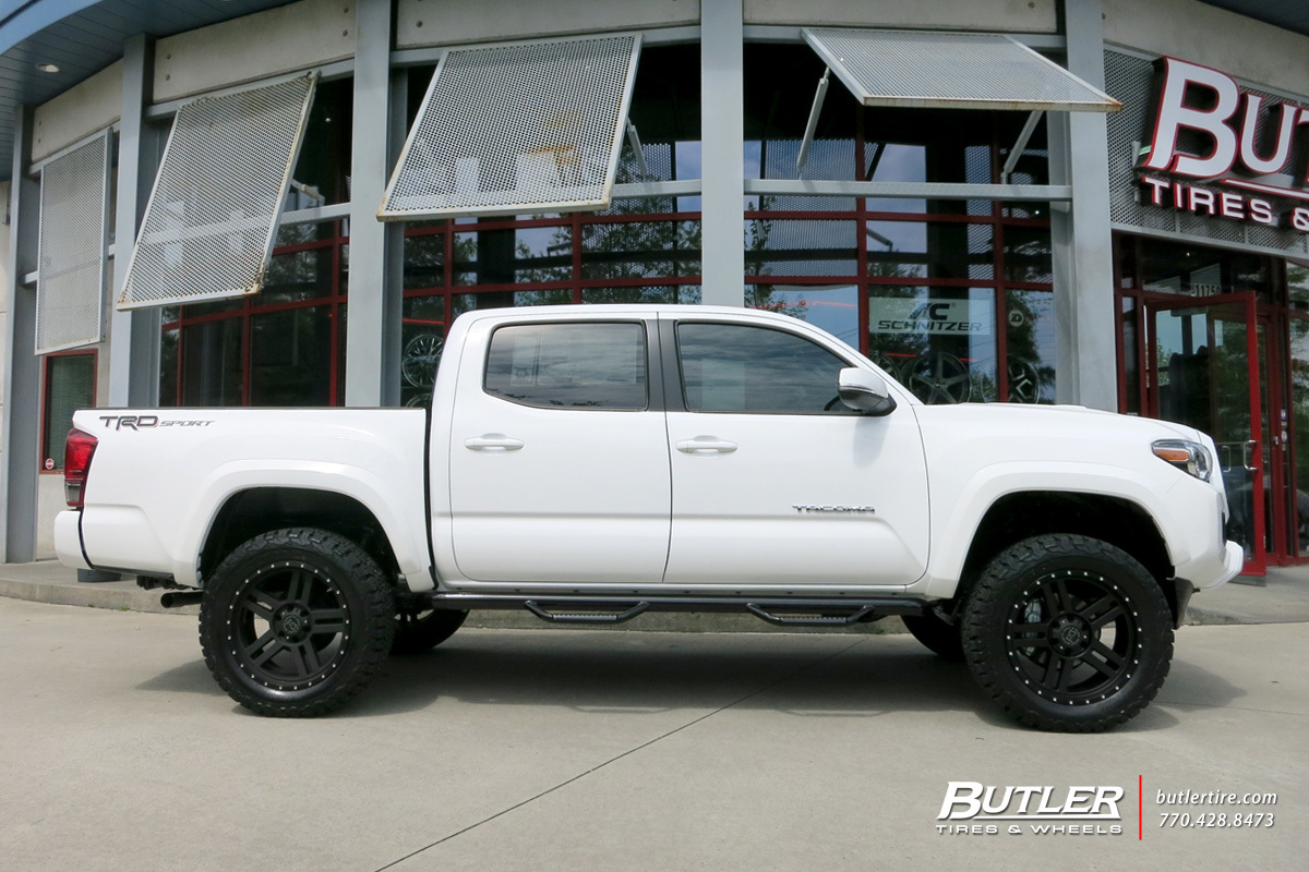 Toyota Tacoma with 20in Black Rhino Mojave Wheels exclusively from Butler Tires and Wheels in