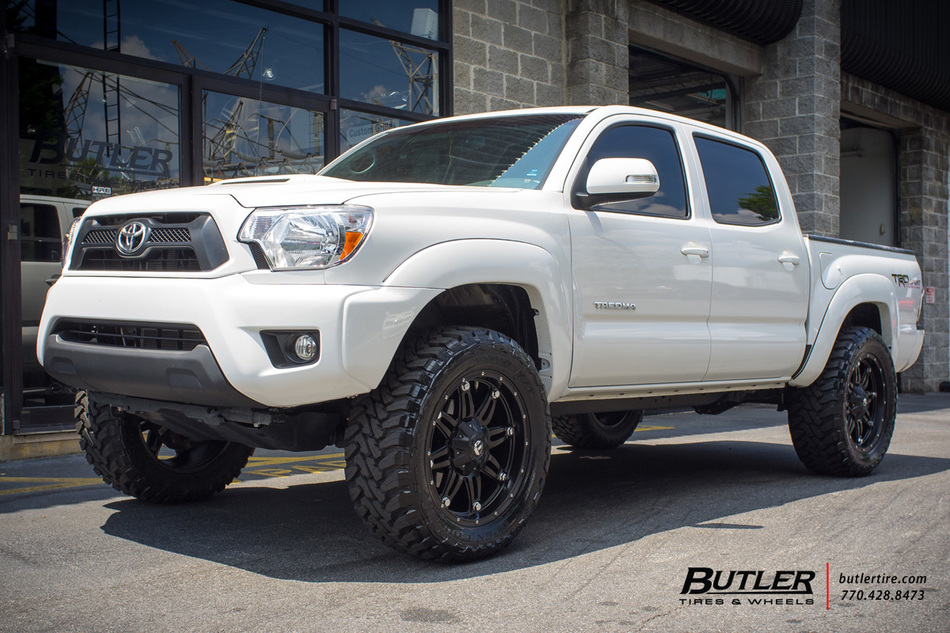 Toyota Tacoma With 20in Fuel Hostage Wheels Exclusively