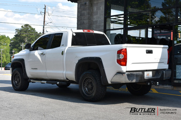 Toyota Tundra with 18in Black Rhino Armory Wheels