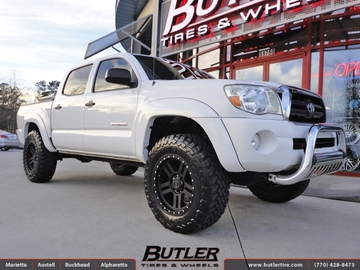 Toyota Tundra with 18in Black Rhino Mojave Wheels