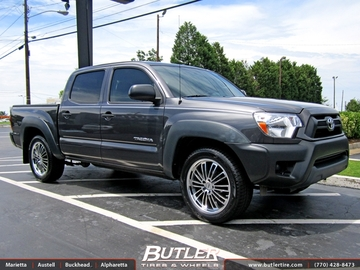 Toyota Tundra with 19in TSW Nardo Wheels