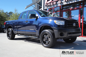 Toyota Tundra with 20 Fuel Full Blown Wheels