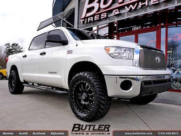 Toyota Tundra with 20in Black Rhino Lucerne Wheels
