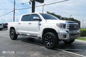 Toyota Tundra with 20in Black Rhino Pinatubo Wheels