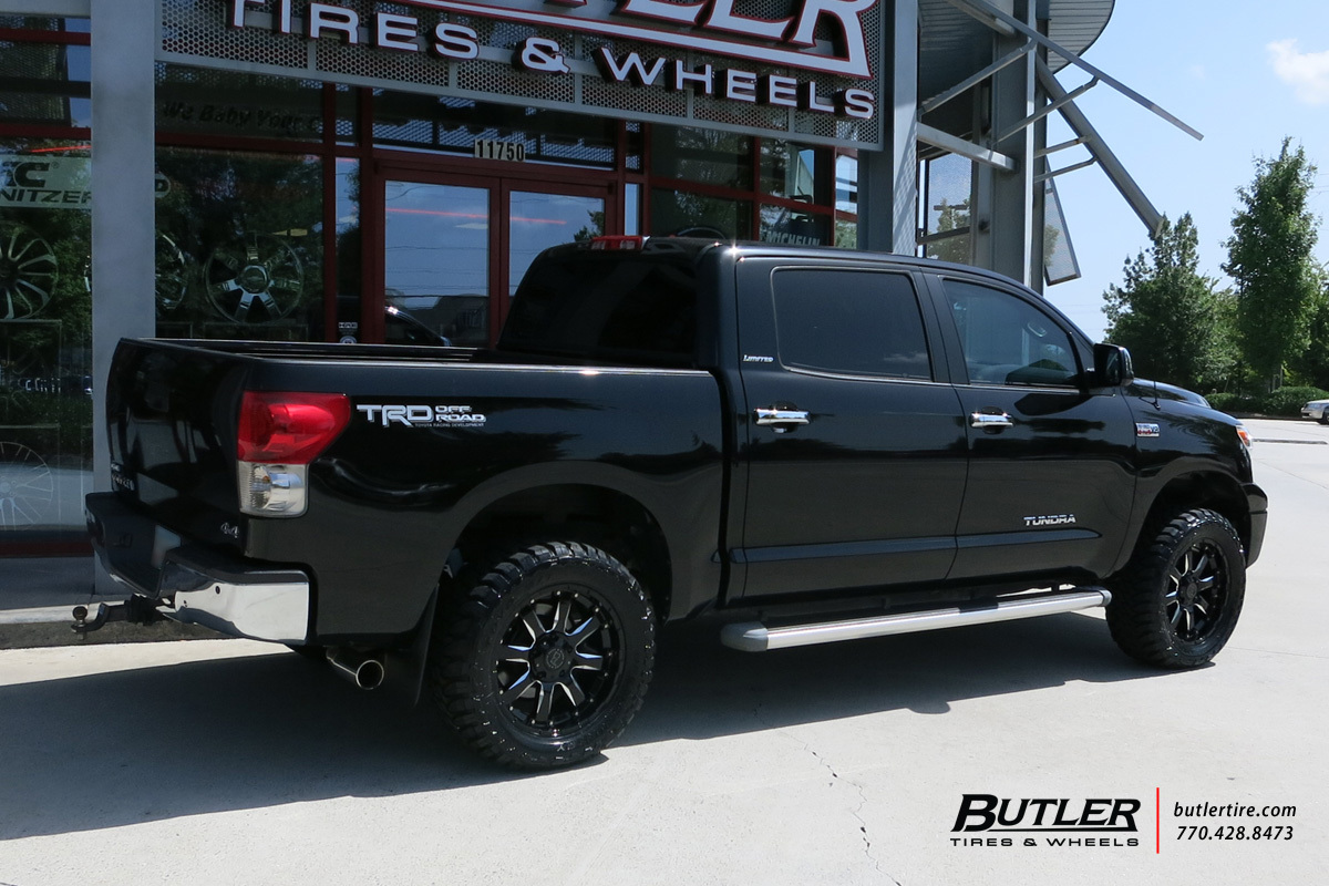 Toyota Tundra With 20in Black Rhino Sierra Wheels