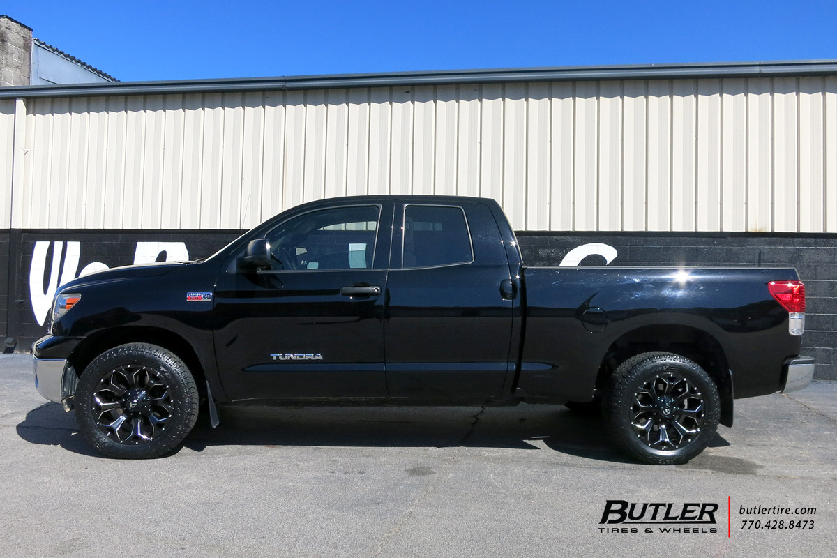 Toyota Tundra with 20in Fuel Assault Wheels exclusively ...