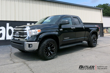 Toyota Tundra with 20in Fuel Assault Wheels