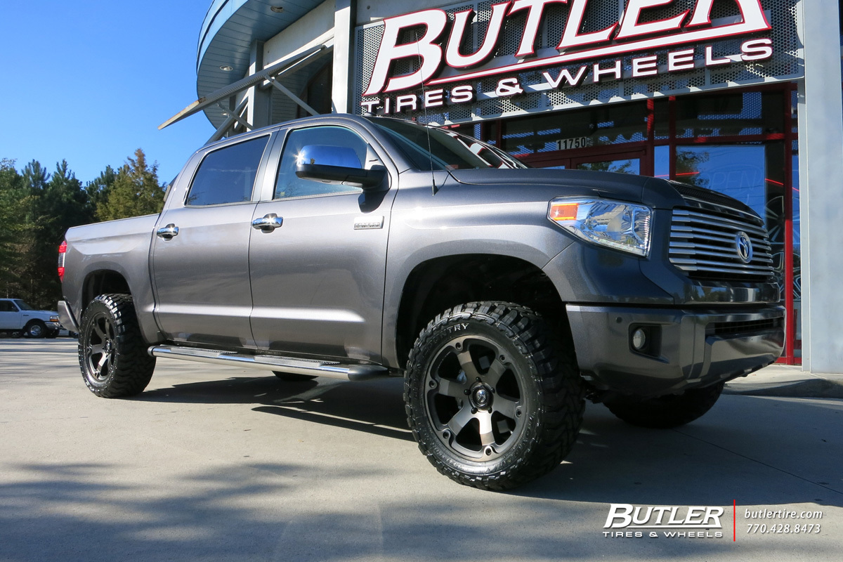 Toyota Tundra with 20in Fuel Beast Wheels
