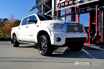 Toyota Tundra with 20in Fuel Krank Wheels
