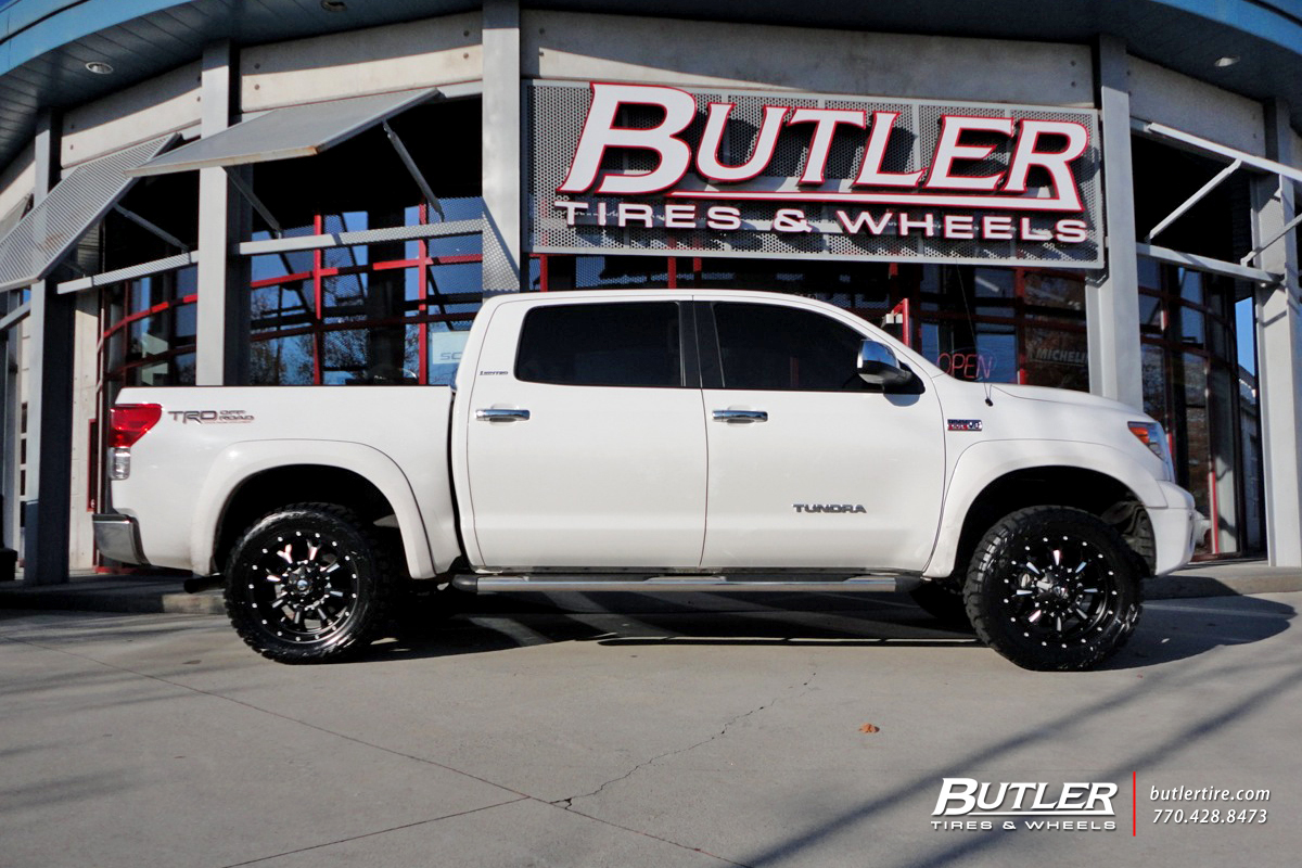 Toyota Tundra With 20in Fuel Krank Wheels Exclusively From