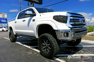 Toyota Tundra with 20in Fuel Maverick Wheels