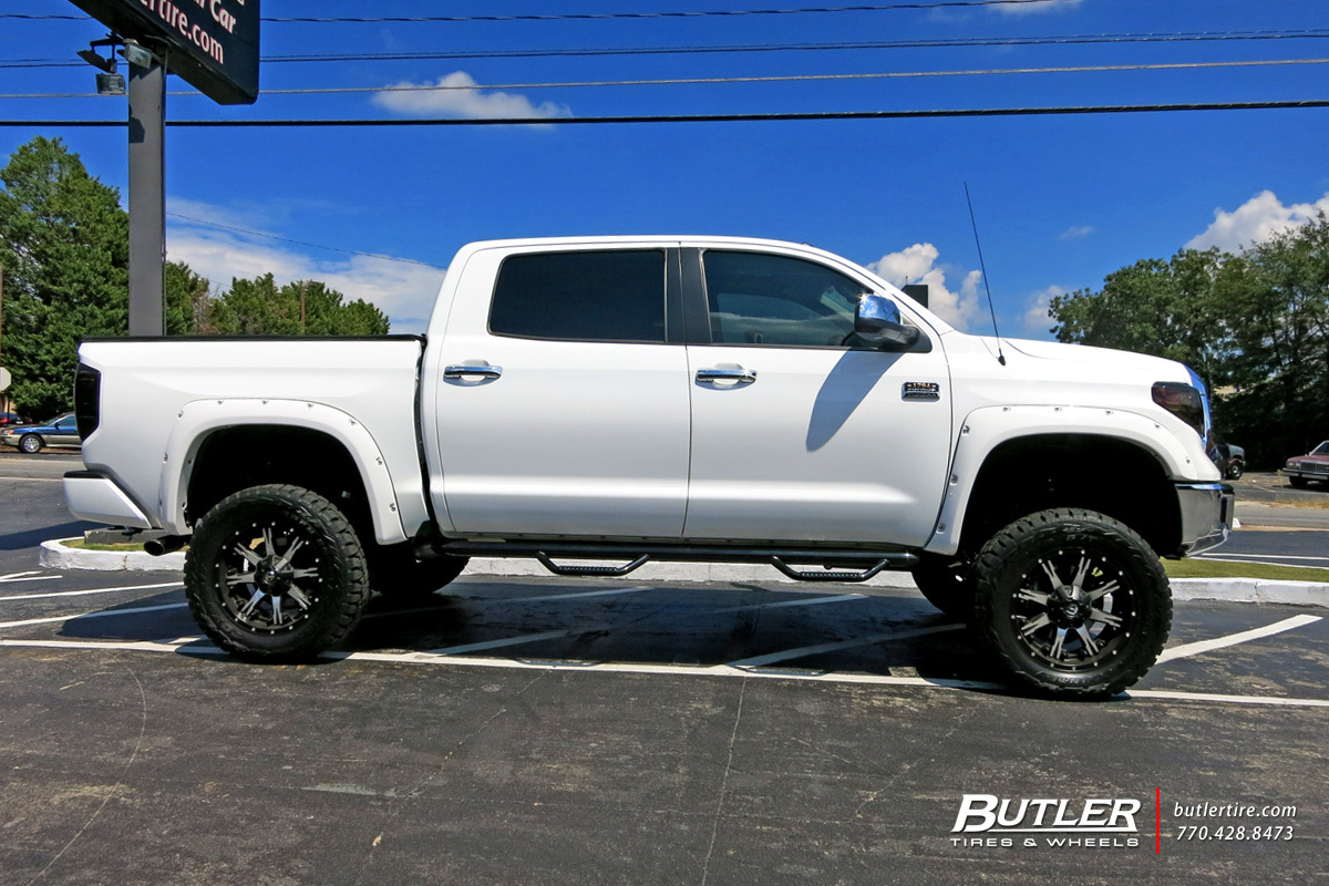 Toyota Tundra With 20in Fuel Maverick Wheels Exclusively From Butler 2012 Dodge Ram 1500