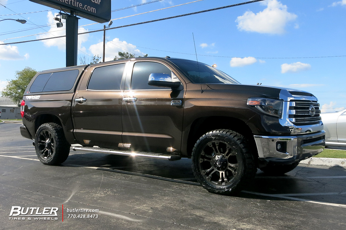 Toyota Tundra with 20in Fuel Vapor Wheels