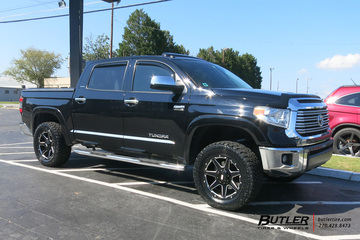 Toyota Tundra with 20in Grid Offroad GD6 Wheels